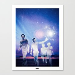 Journey of the Lightworkers Canvas Print