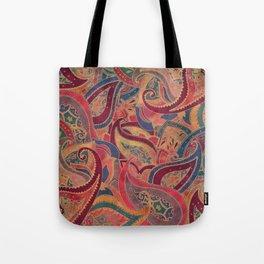 Paisley pattern Tote Bag