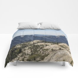 The Other Side of Half Dome Comforters