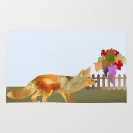 The Fox and the Vineyard Rug
