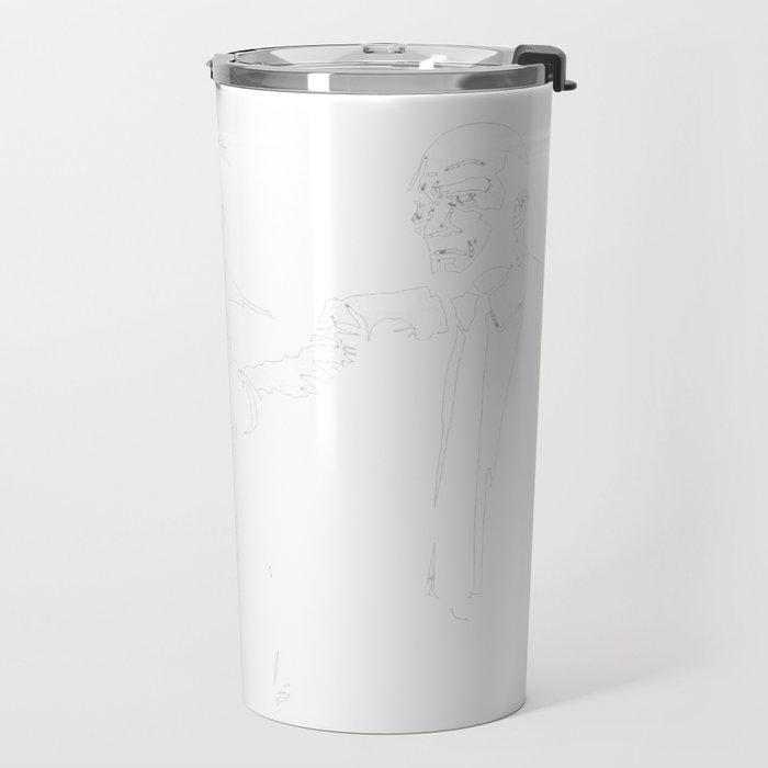 Spike Jet Knock Out - Cowboy Bebop Travel Mug