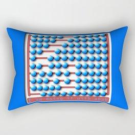 Abacus calculator Rectangular Pillow