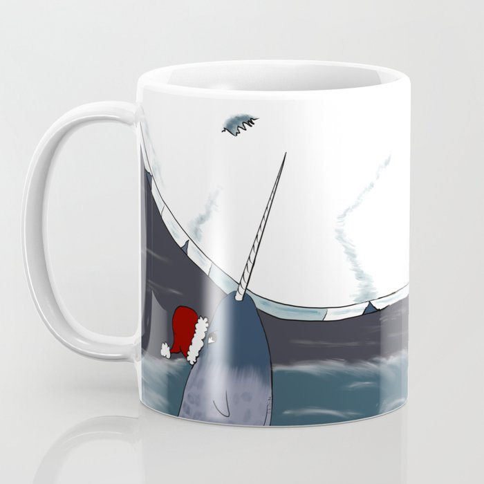 A Narwhal For Christmas Coffee Mug