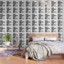 She Wants the D (estruction of Patriarchy) Wallpaper