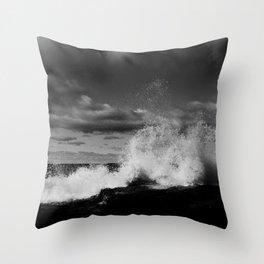 break Throw Pillow