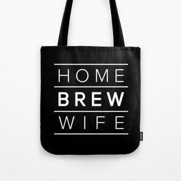 Homebrew Wife (White) Tote Bag