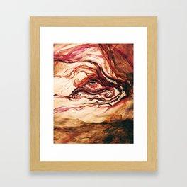 COMPLEXITY BLINDNESS Framed Art Print
