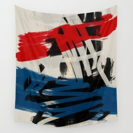 French Expressionist Abstract Art Wall Tapestry