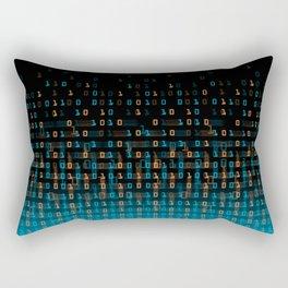 Binary Speed Rectangular Pillow