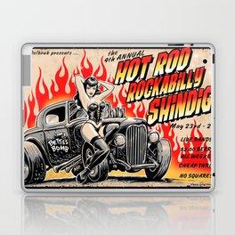 Hot Rod Rockabilly Shindig Laptop & iPad Skin