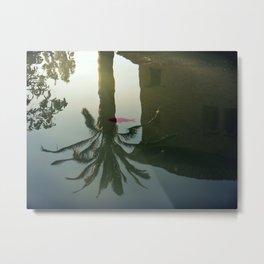 Moorish Reflection Metal Print