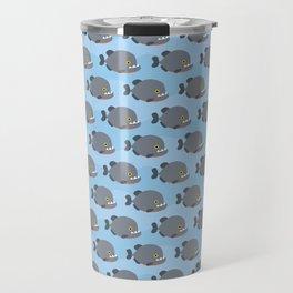 Piranhas pattern Travel Mug