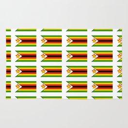 Flag of zimbabwe -Zimbabwe,Zimbabwean,Zimbo,harare,Bulawayo Rug