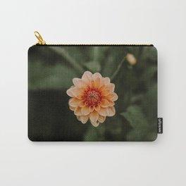 Orange Dahlia Carry-All Pouch