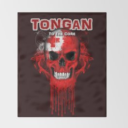 To The Core Collection: Tonga Throw Blanket