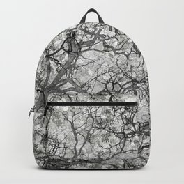 White Hunting Camo Pattern Backpack