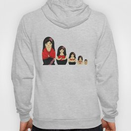Burlesque Stripper Russian Doll Hoody