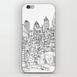 London! iPhone Skin