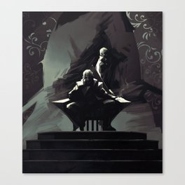 DH: Corvo the Black Canvas Print