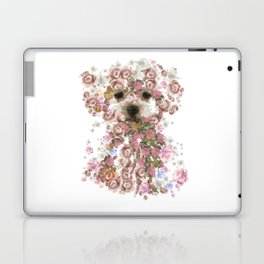 Vintage doggy Bichon frise.DISCOVER Laptop & iPad Skin