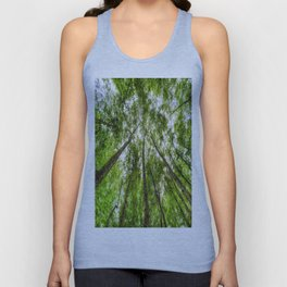 The Ancient Tree Canopy Unisex Tank Top