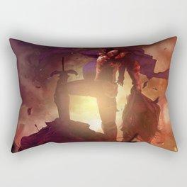 Luca Blight the Beast of Suikoden II Rectangular Pillow