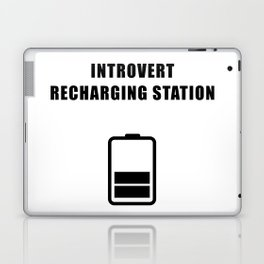 Introvert Recharging Laptop & iPad Skin