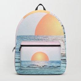 Untypical sunset II Backpack