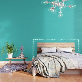Medium Turquoise Wallpaper