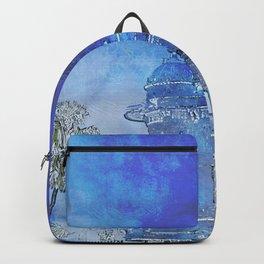 India in Indigo Backpack