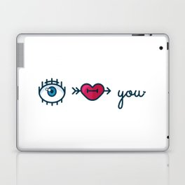 Eye Heart You Laptop & iPad Skin