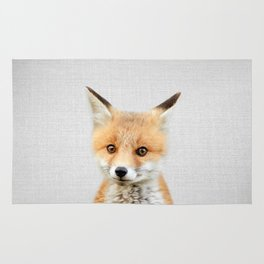 Baby Fox - Colorful Rug