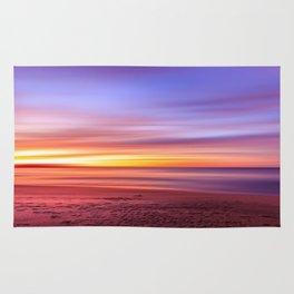 Colour sky beach Rug