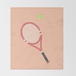#19 Tennis Throw Blanket