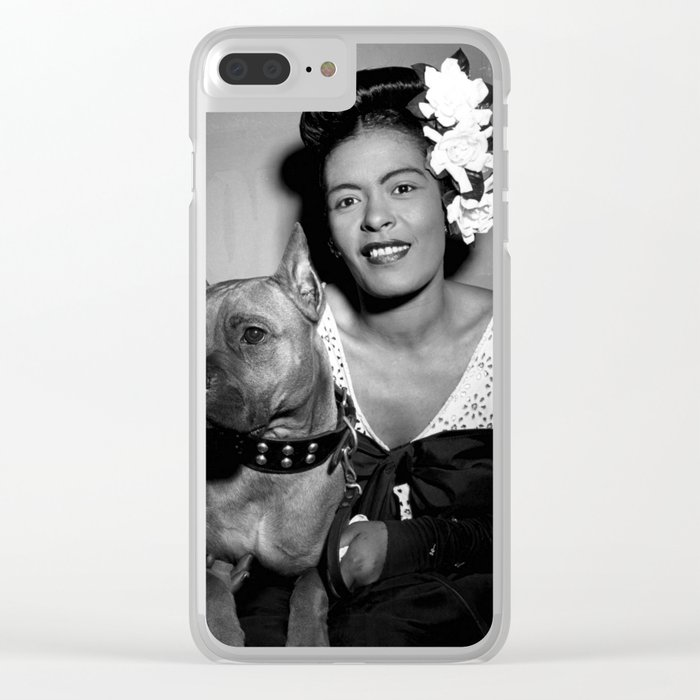 Billie Holiday : Lady Day & Her Mister Clear iPhone Case