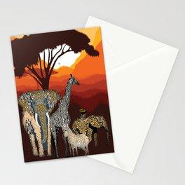 Jungle Jumble Stationery Cards