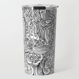 The power of the tiger Travel Mug