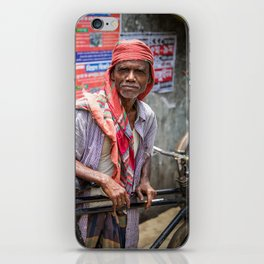 Rickshaw iPhone Skin