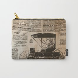 Old Vintage Advertising Part 3 Carry-All Pouch