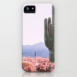 Warm Desert iPhone Case