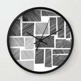 City Blocks Wall Clock