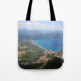Akyaka and The Bay Of Gokova Photograph Tote Bag