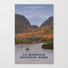 La Mauricie National Park Poster, Quebec Canvas Print