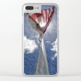 Florida and United States Together We Fly Clear iPhone Case