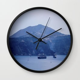 Santorini, Greece 8 Wall Clock
