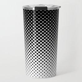 Halftone Gradient Travel Mug