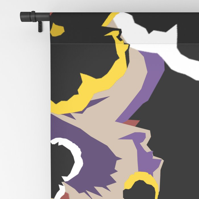 Pansy Love Blackout Curtain