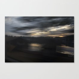 From a train Canvas Print