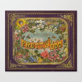 Pretty Odd Canvas Print