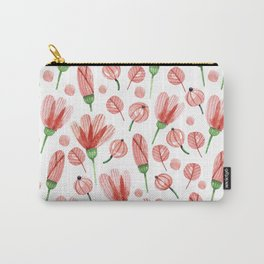 Red flowers Nature Carry-All Pouch